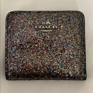 Coach Bags - Sparkly Coach Wallet